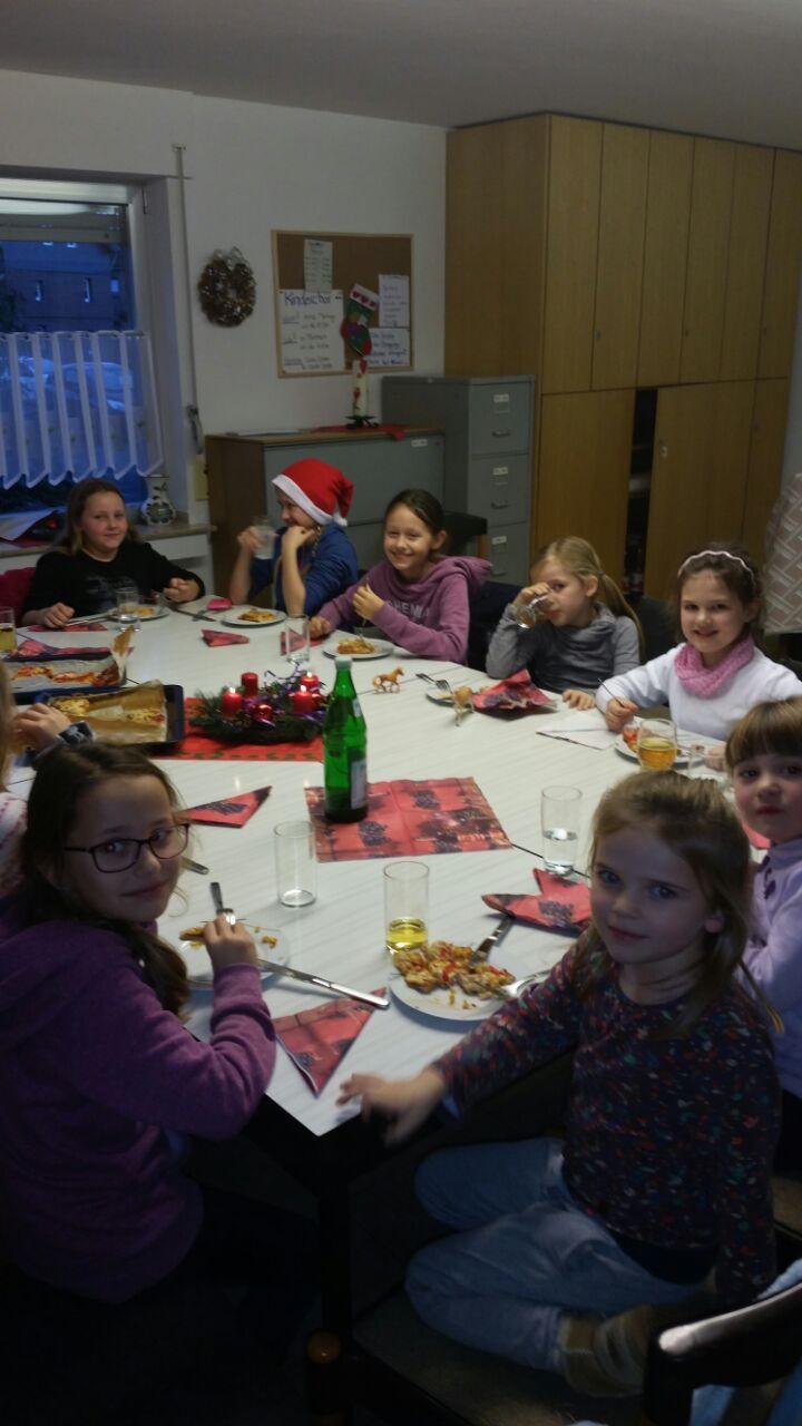 Weihnachtsfeier beim Ellener Kinderchor