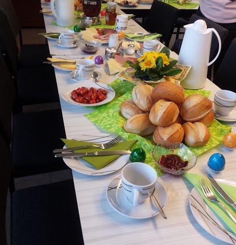 Neujahrsempfangsfrühstück für unsere Ehrenamtler