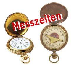 Umstellung der Messzeiten