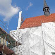 Schliessung unserer Kirche durch die notwendige Fenstersanierung